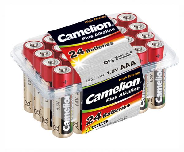 Батарейка CAMELION LR 03/ 24 Pack (Plus Alkaline) (5876443)