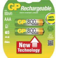 Аккумулятор GP R-03/2bl 800 mAh Ni-MH (5796527)