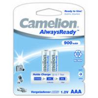 Аккумулятор CAMELION R 03/2bl 900 mAh Ni-MH (Always Ready) (5877171)