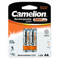 Аккумулятор CAMELION R 6/2bl 2200 mAh Ni-MH (5985855)