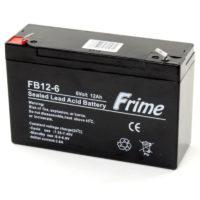 Герметичный свинцово-кислотный аккумулятор AGM Frime FB12-6 6V 12.0AH (56314905)