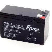 Герметичный свинцово-кислотный аккумулятор AGM Frime FB7-12 12V 7.0AH (56314901)