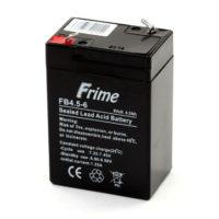 Герметичный свинцово-кислотный аккумулятор AGM Frime FB4.5-6 6V 4.5AH (56314904)