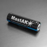 Литий-ионный аккумулятор Li-ion MastAK 18650 Li-on 2200 mAh 3.6V+защита (56315255)