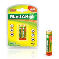 Аккумулятор MastAK R 03/2bl 1000 mAh Ni-MH (56305619)