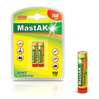 Аккумулятор MastAK R 03/2bl 750 mAh Ni-MH (56304835)