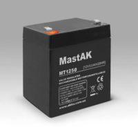 Герметичный свинцово-кислотный аккумулятор AGM Mastak MT1250 12V 5А 90*70*101/5 клема (56313934)