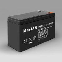 Герметичный свинцово-кислотный аккумулятор AGM Mastak MT1270 12V 7A 151*65*94/6 (56303135)