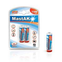Аккумулятор MastAK R 06/2bl 1100 mAh Ni-CD (56304840)