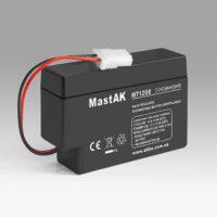 Герметичный свинцово-кислотный аккумулятор AGM Mastak MT1208 12V 0