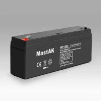 Герметичный свинцово-кислотный аккумулятор AGM Mastak MT1223 12V 2