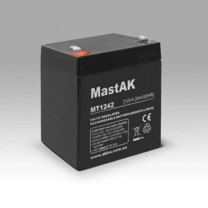 Герметичный свинцово-кислотный аккумулятор AGM Mastak MT1242 12V 4.2A 90*70*101/5 (56303134)