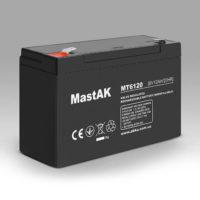 Герметичный свинцово-кислотный аккумулятор AGM Mastak MT6120 6V 12A 151*50*94 (56305803)