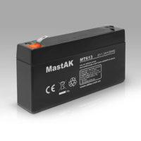 Герметичный свинцово-кислотный аккумулятор AGM Mastak MT613 6V 1.3A  98*25*56 (56301741)