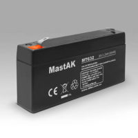 Герметичный свинцово-кислотный аккумулятор AGM Mastak MT632 6V 3