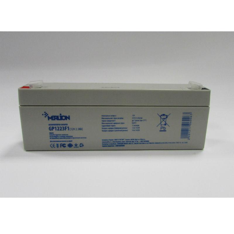 Герметичный свинцово-кислотный аккумулятор AGM MERLION MLB-12V 2