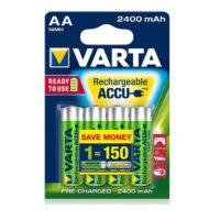 Аккумулятор Varta AA HR6 2400mAh Ni-Mh Redy 2 Use (56756) 4bl (56303125)