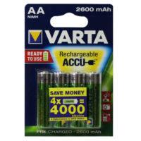 Аккумулятор Varta AA HR6 2600mAh Ni-Mh Redy 2 Use (5716) 4bl (56312315)