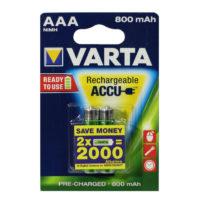 Аккумулятор Varta AAA HR03 800mAh Ni-Mh Redy 2 Use (56703) 2bl (56308949)