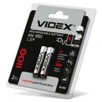 Аккумулятор VIDEX AAA HR03 1100 mAh Ni-MH 2bl (56307816)