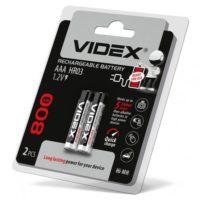 Аккумулятор VIDEX AAA HR03 800 mAh Ni-MH 2bl (56307815)