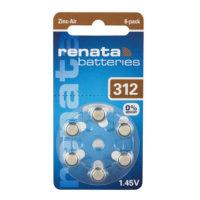 Батарейка в слуховой аппарат RENATA ZA 312