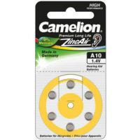 Батарейка в слуховой аппарат CAMELION ZA 10 / 6 BL
