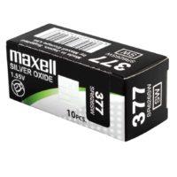 Батарейка в часы MAXELL SR626SW 377 1x10 NEW EUROPE