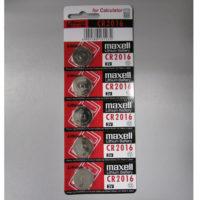 Батарейка MAXELL CR2016 B5