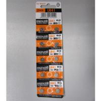 Батарейка в часы MAXELL LR41 (392