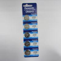 Батарейка PANASONIC CR 2012 BL5