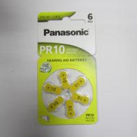 Батарейка в слуховой аппарат PANASONIC Zinc Air PR 230 (10) / (6 bl)
