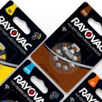Батарейка в слуховой аппарат RAYOVAC  ZA 10/6bl