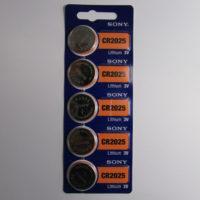 Батарейка SONY СR2025 1х5 шт.