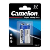 Батарейка CAMELION 6F22 крона Blue
