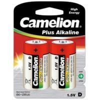 Батарейка CAMELION LR20 / 2 BL (Plus Alkaline)