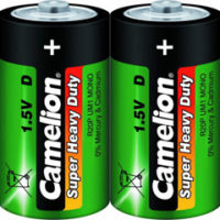 Батарейка CAMELION R20 / 2 BL ( Green )