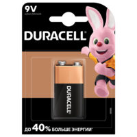 Батарейка DURACELL 9V крона MN1604