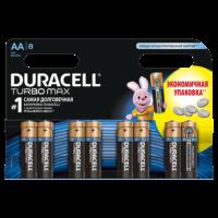 Батарейка DURACELL LR06 MN1500 KPD 04*20 Turbo 1x8 шт.