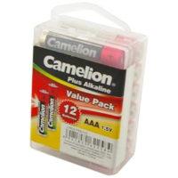 Батарейка CAMELION LR03 AAA Plus Alkaline 12 pacs