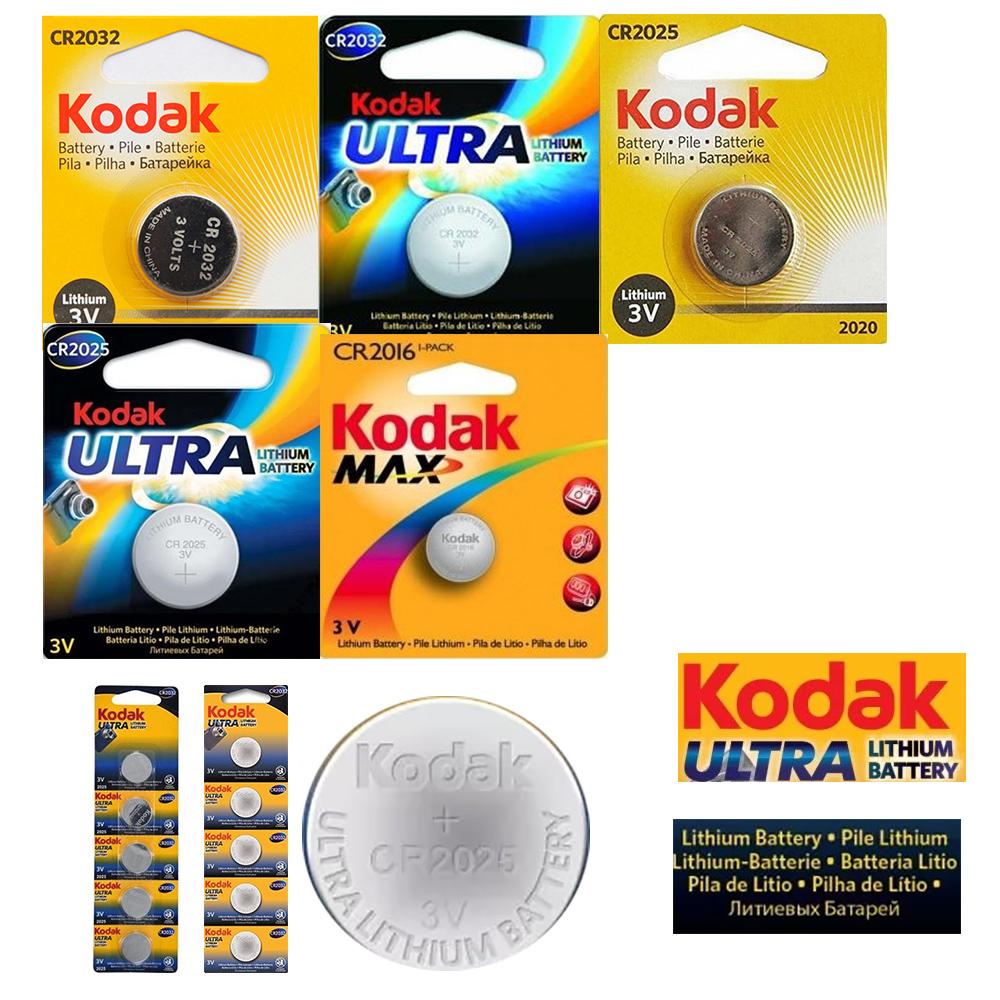 батарейки литиевые Kodak