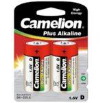 Батарейка CAMELION LR20 D Plus Alkaline blist 2 (5876513)