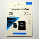 Карта памяти TEAM 32 ГБ micro SD class 10 (56318319)