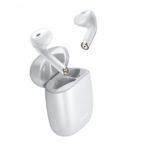 Baseus W04 Encok True Wireless Earphones White bluetooth (TWS