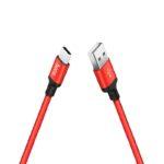 HOCO X14 USB AM – Type C 2A 1m Black&Red (56319152)