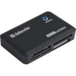 Картридер DEFENDER OPTIMUS USB 2.0 черный (6054061)