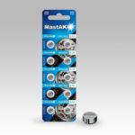 Батарейка MASTAK AG3 384 LR41 bl10 (56304851)