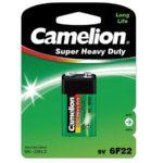 Батарейка CAMELION 6F22 крона Green blist 1 шт (5949933)