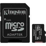 Карта памяти KINGSTON UHS I 95R micro SD 128 GB Class 10 (56316565)