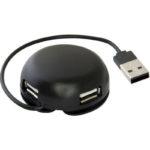 USB хаб DEFENDER 4xUSB 2.0 QUADRO Light (6294159)